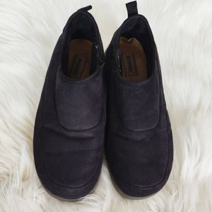 Sorel leather loafers / slippers
